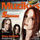 Simone Simons - Muzikus Magazine Cover [Czech Republic] (May 2011)