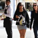 Christina Milian  out to lunch with friends at Il Pastaio in Beverly Hills, California on January 11, 2017 - 418 x 600