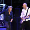 Roger Daltrey & Pete Townshend perform  on the first night of the band's residency at The Colosseum at Caesars Palace on July 29, 2017 in Las Vegas, Nevada - 454 x 327