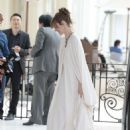 Louise Bourgoin out in Cannes