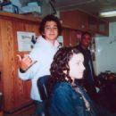 Shia LaBeouf and Margo Harshman