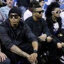Teyanna Taylor and Chris Brown