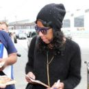 Natalie Cole seen at LAX. January 20,2015 - 400 x 600