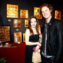Danielle Panabaker and Zachary Abel