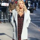 Denise Richards – Arrives at Good Morning America in New York City - 454 x 697