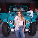Maria Menounos-  The Jeep Wrangler Celebrity Customs Reveal Event - 443 x 600