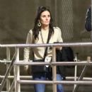 Courteney Cox – Arrives at Chris Cornell Tribute Concert in Inglewood