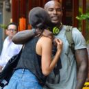 Tyson Beckford and Shanina Shaik - 395 x 594
