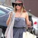 Ashley Tisdale Leaving Umami Burger in Studio City