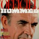 Sean Connery - L'Officiel Hommes Magazine Cover [France] (October 1983)