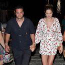 Ana Beatriz Barros and husband Karim El Chiaty – Night out in Mykonos - 454 x 681