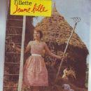 Brenda Lee - Fillette Jeune Fille Magazine Cover [France] (16 July 1959)