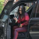 Kourtney Kardashian at the  Katsuya restaurant in Los Angeles
