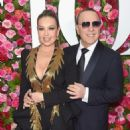 Thalia and Tommy Mottola- 72nd Annual Tony Awards - Arrivals - 454 x 592
