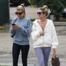 Sofia Richie – Has lunch with friends in Malibu
