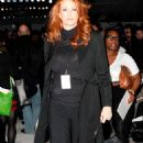 Angie Everhart Attending Carlos Miele Fall 2009 During Mercedes-Benz Fashion Week At The Promenade In Bryant Park In New York City 2009-02-16