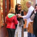 Vanessa Hudgens was spotted out and about in Paris, February 14