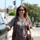 Alyson Hannigan: doing some errands in Sta Monica