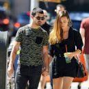 Joe Jonas out in SoHo with his girlfriend, Blanda Eggenschwiler (August 25)