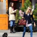 Sienna Miller - Walking Her Dog In The Meatpacking District, 2009-10-22