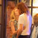 Dianna Agron and Winston Marshall on a dinner date in New York City - 454 x 533
