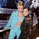 Miley Cyrus and Millie Bobby Brown– 2017 MTV Video Music Awards in Los Angeles