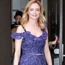 Heather Graham – Leaves the 'Today' show in NYC - 454 x 681