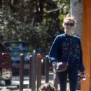 Julianne Hough With Her Dogs – Hiking in Studio City - 454 x 681