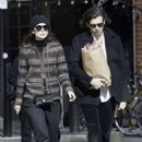 Keira Knightley and James Righton Out in London - 454 x 635