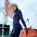 Anna Vivchar - Elle Magazine Pictorial [Kazakhstan] (October 2016) - 454 x 578