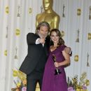 Jeff Bridges and Natalie Portman At The 83rd Annual Academy Awards - Press Room (2011) - 378 x 594