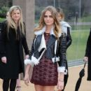 Cara Delevingne Burberry Prorsum Fashion Show In London