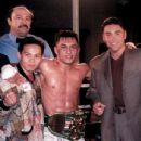 Oscar De La Hoya and Ernie Reyes Jr
