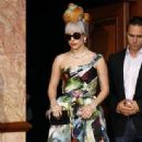 Lady Gaga Holds Elaborate New Delhi Press Conference