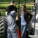 "Keri Russell - On The Set Of ""Bedtime Stories"" In Los Angeles, 21.04.2008."