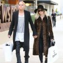 Ashlee Simpson and husband Evan Ross out shopping at OnePiece in West Hollywood, California on January 8, 2015 - 454 x 551