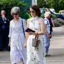 Claire Foy – Wimbledon Tennis Championships 2019 in London - 454 x 639