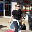 Hilary Duff in Tights – Out Shopping in Studio City - 454 x 641