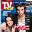 Kristen Stewart, Robert Pattinson - TV Mini Magazine Cover [Czech Republic] (28 December 2013)