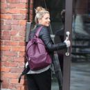 Gemma Atkinson – Arriving at Hits Radio in Manchester - 454 x 780