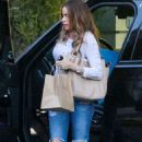 Sofia Vergara At A Friends House In Hollywood