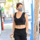 Danielle Bux – Heads for a morning workout in Los Angeles - 454 x 807