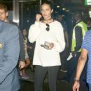 Adriana Lima at JFK Airport in NYC