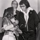 Elvis and Priscilla leave the courthouse in Santa Monica, CA after divorce proceedings ending their six year marriage on October 9, 1973