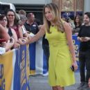 Ginger Zee on the set of 'Good Morning America' in New York City