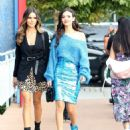 Victoria Justice and Madison Reed – Out in New York