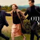 Karen Elson, Hugh Dancy, Michael Shannon - Vogue Magazine Pictorial [United States] (October 2013) - 454 x 312