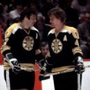 Bobby with Phil Esposito