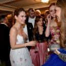 Lily James – Vienna Opera Ball Opening Ceremony in Austria February 10, 2018