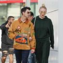 Sophie Turner and Joe Jonas – Out for a lunch at Wally's in Beverly Hills
